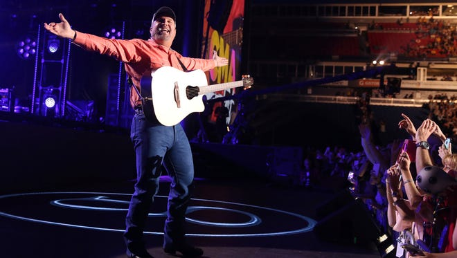 Garth Brooks (pictured) and Trisha Yearwood will perform five shows at Bankers Life Fieldhouse from Oct. 5-8.