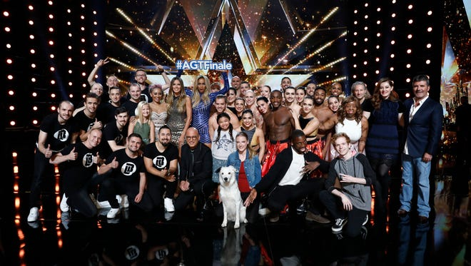 Ten finalists remain on 'America's Got Talent.' The acts perform one last time Tuesday before the winner is crowned Wednesday.