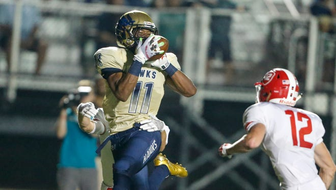 Decatur Central's Tyrone Tracy had 80 yards rushing and 88 receiving in a 63-28 victory over Plainfield.