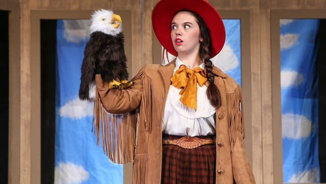 Elizabeth Bennett plays the lead in Montana Repertory Theatre's upcoming play at the Great Falls Public Library.