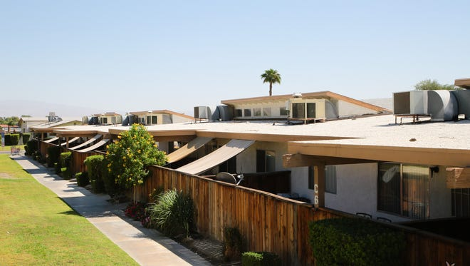 The Washington Street apartment complex will nearly double in size to add more affordable housing units in La Quinta, Calif., October 2, 2017.
