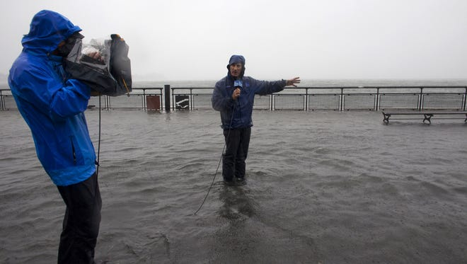 Reports say Jim Cantore is on his way to Orange Beach and Gulf Shores.