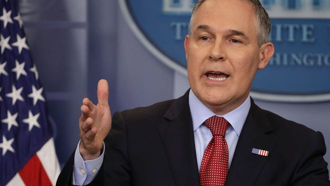 EPA administrator Scott Pruitt resigned earlier this week.
