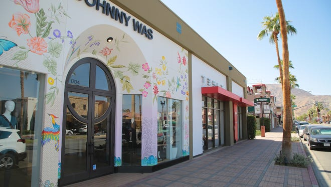 Johnny Was, which has a storefront on El Paseo in Palm Desert, will expand to a new location in the Grit Development in downtown Palm Springs, October 2, 2017.