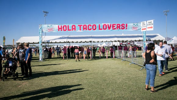 Don't be left out! Get your ticket for The Taco Festival today.