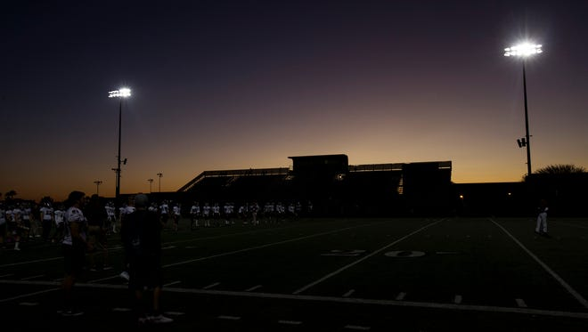 The Arizona Interscholastic Association has placed schools in 6A, 5A and 4A conferences based on enrollment numbers for the next two-year scheduling block.