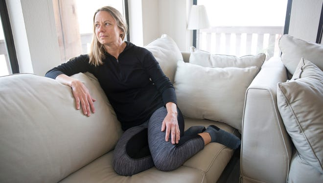 Camilla Kragius lives in Park City, Utah. A small-business owner, she is experiencing an increase of more than $1,200 in her health-insurance premiums next year and receiving less coverage.