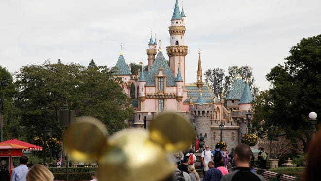 This Jan. 22, 2015, file photo shows Sleeping Beauty's Castle at the Disneyland theme park in Anaheim.