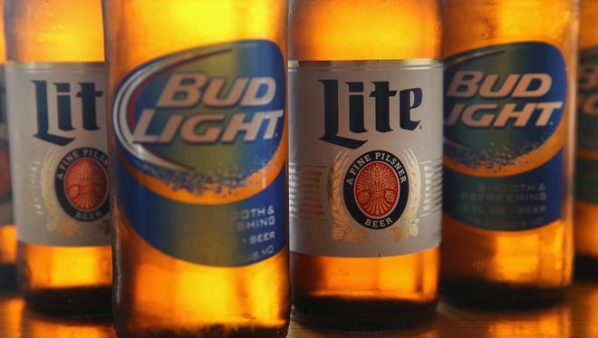 A man's attempt to steal two 24-packs of Bud Light and six bottles of liquor from a Canton Kroger was  unsuccessful.
