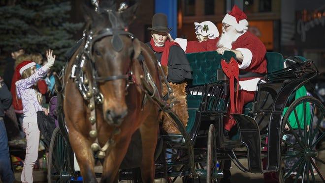 The Oshkosh Holiday Parade 2016 kicked off the holiday season in Oshkosh Nov. 17. This year's parade is Nov. 16.
