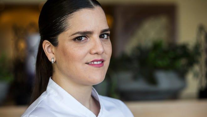 Chef Samantha Sanz poses for a portrait at Talavera at the Four Seasons Resort on Wednesday, Nov. 15, 2017 in Scottsdale, Ariz.