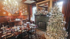 This elegant Old Louisville mansion is sparkling for the holidays. Take a look inside