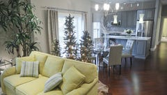 Tour this glitzy St. Matthews condo to help inspire your Christmas decorating ideas