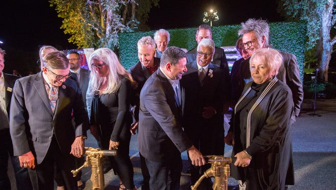 The groundbreaking ceremony for the what will be the DREAM Hotel in Palm Springs took place on November 28, 2017.