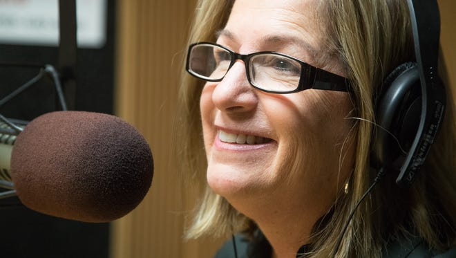 """Cristina Walters is the host of """"She's a Gamer"""", a new radio sport show focused on women and sports, December 5, 2017."""
