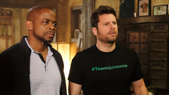 Gus (left, Dulé Hill) and Shawn (James Roday) have a new case —and fresh digs —in 'Psych: The Movie.'