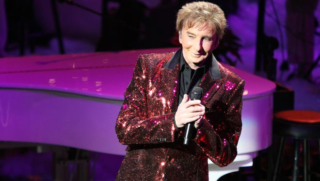 """Barry Manilow performs his """"A Gift of Love IV"""" benefit concert at the McCallum Theatre in Palm Desert on Tuesday, December 12, 2017."""
