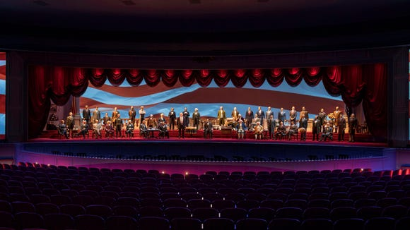 President Trump joins Disney's Hall of Presidents after