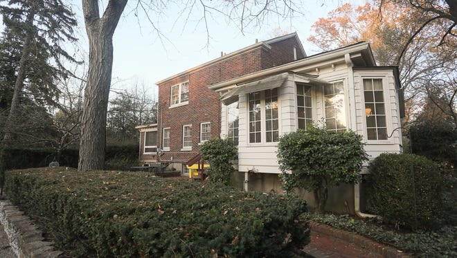 The exterior of the home of Dawn and Tommy Blair in Louisville, KY. Nov. 14, 2017