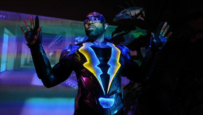 Cress Williams stars as a more mature kind of superhero in CW's 'Black Lightning.'