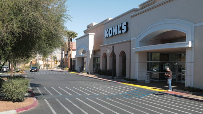 Kohl's has two locations in the Coachella Valley, including one in Palm Desert. The retailer is suing Riverside County, claiming that the value of its property has declined because of online rivals. January 24, 2018.