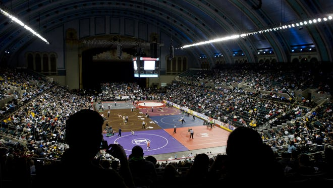Boardwalk Hall is the site of the NJSIAA Wrestling Championships, wher state champions are crowned. But who are the best grapplers from the Shore area never to win a state title? Let us know who you think they are.