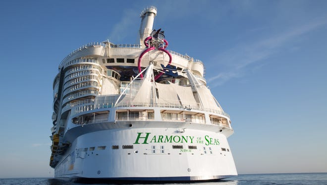 Capable of carrying up to 6,687 passengers, Harmony of the Seas was the biggest cruise ship when it debuted in 2016. Symphony of the Seas, introduced this year, is larger.