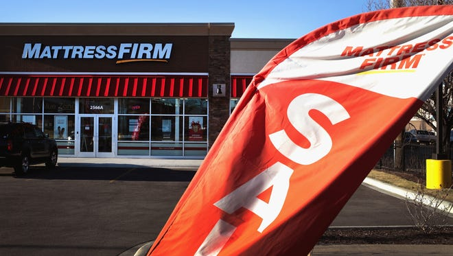 CHICAGO, IL - DECEMBER 06:  Mattresses are offered for sale at a Mattress Firm store on December 6, 2017 in Chicago, Illinois. Steinhoff International Holdings N.V., which is the parent company of Mattress Firm, saw its stock value plummet more than 60 percent today after the resignation of CEO Markus Jooste and an announcement from the company that it was launching an investigation into accounting irregularities.  (Photo by Scott Olson/Getty Images) ORG XMIT: 775088189 [Via MerlinFTP Drop]