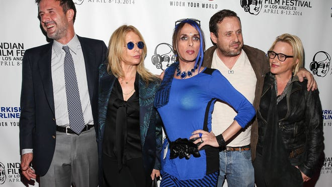 "Actors David Arquette, Rosanna Arquette, Alexis Arquette, Richmond Arquette, and Patricia Arquette attend the Indian Film Festival Of Los Angeles Opening Night Gala for ""Sold"" at ArcLight Cinemas on April 8, 2014 in Hollywood, California."