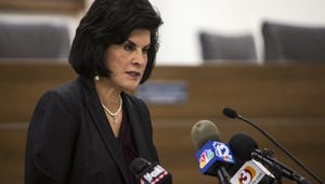 Chandler Unified School District Superintendent Camille Casteel speaks during a press conference on Feb. 21, 2018, in Chandler.