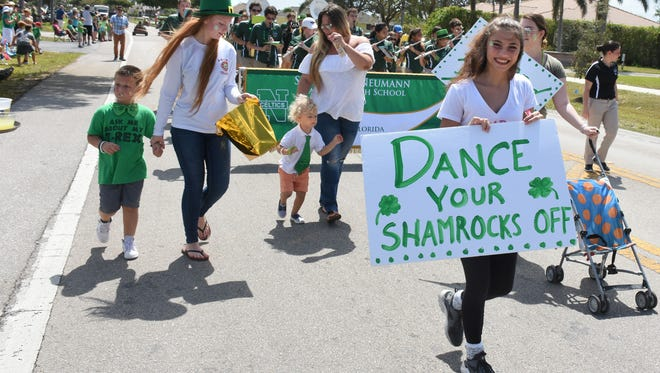 A message from the Island Dance Academy. The Sons and Daughters of Erin hosted the Marco Island St. Patrick's Day Parade on Bald Eagle Drive Sunday afternoon, with Hooley afterwards at Veterans Community Park.