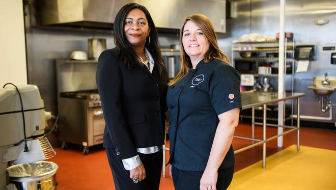 Greenville entrepreneurs Ava Smith and Alba Sunyer-Olle have partnered to offer Diversity Cafe, a team-building exercise that combines preparing a meal and serving discussions on social issues.