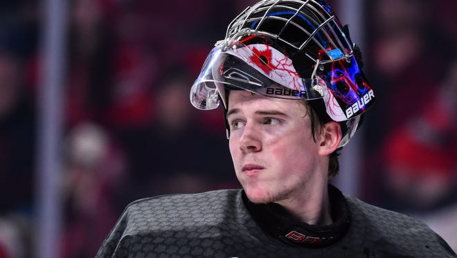 Carter Hart will turn pro in the fall after his playoff run with the Everett Silvertips ends.
