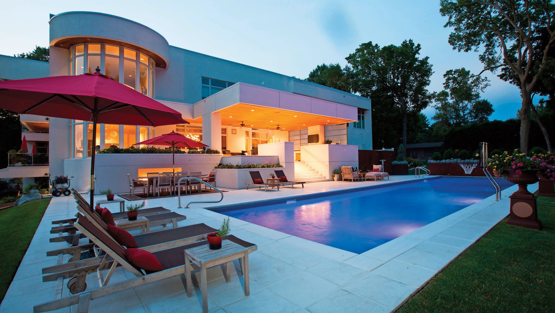 Cool backyard pools