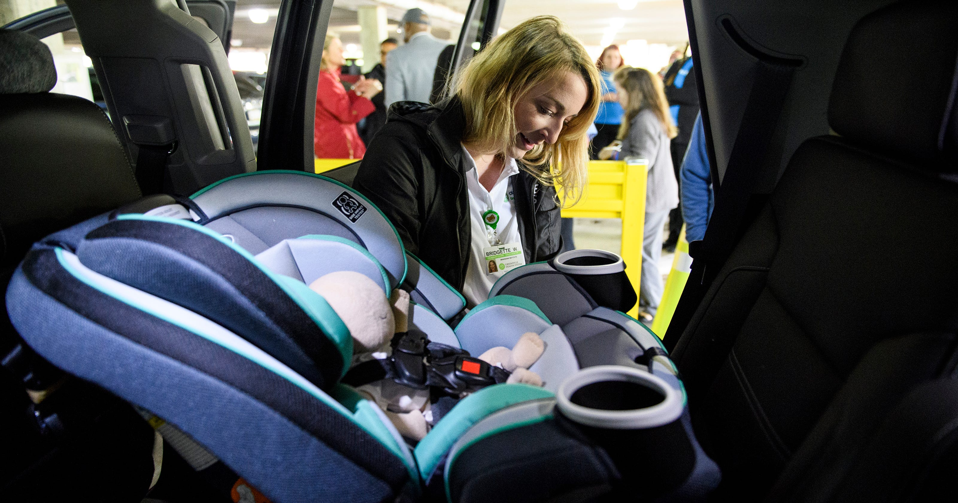GHS Launches Child Car Seat Inspection Station At Greenville Memorial