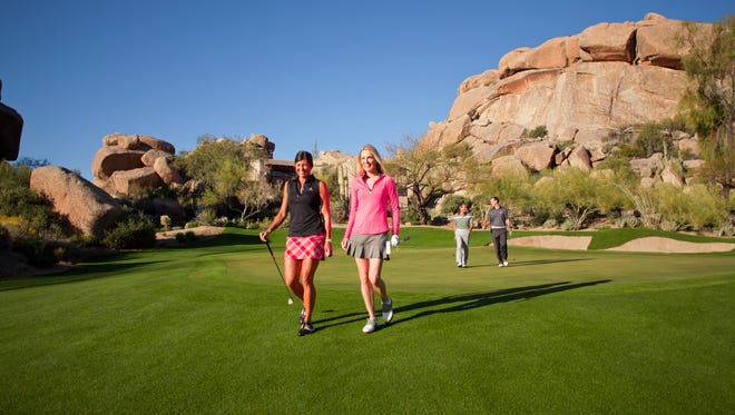 Featuring magnificent mountain views, the resort offers first-rate accommodations, two championship golf courses, a world-class spa and four distinct dining experiences.