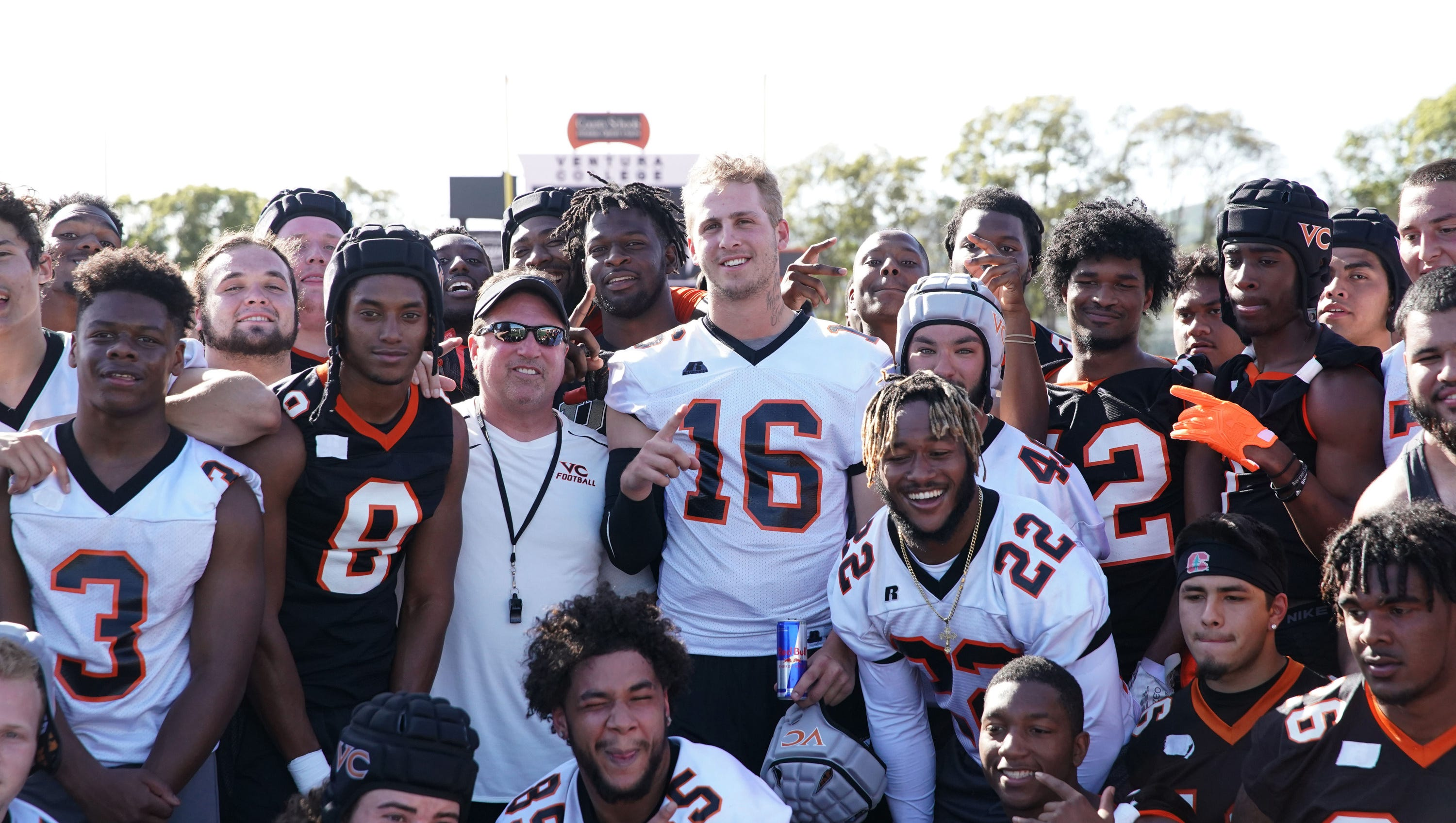 Jared Goff Pranks The Ventura College Football Team