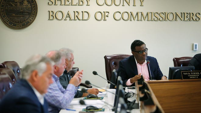 The Shelby County Board of Commissioners now sets the salaries for all elected county officials. Approval of a charter amendment on the Aug. 2 ballot would tie salaries to state law that governs all other counties.