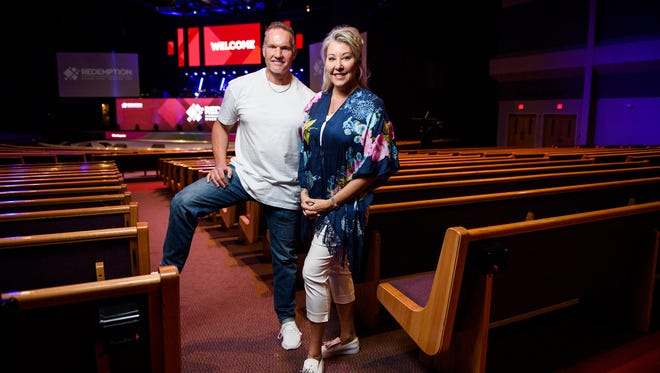 Pastor Ron Carpenter and his wife Hope will be leaving Redemption Church in Greenville for Jubilee Christian Center in San Jose, California.