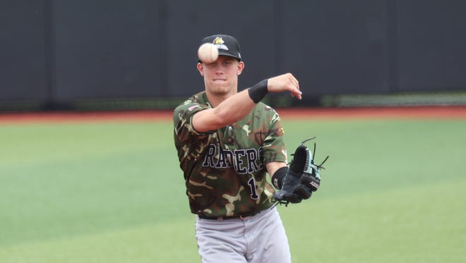 Matt Morrow was a Myyon A. Barnes Athlete of the Year finalist in 2014. He signed with the Pittsburgh Pirates earlier this summer.
