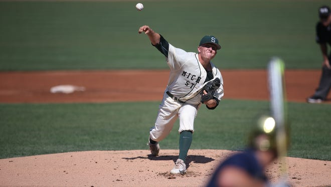 MSU's Riley McCauley was selected in the 14th round of the MLB draft by the Chicago Cubs.