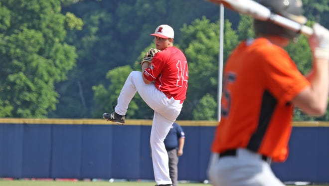Elijah Dunlap, the winning pitcher in Riverheads' 13-1 victory over Honaker in the VHSL Class 1 state final on Saturday, was selected to the first team as a pitcher on the All-Region 1B baseball team.