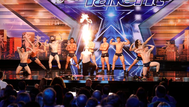 Nathan Spare (he's the one breathing fire) will appear on the June 12 episode of 'America's Got Talent.'