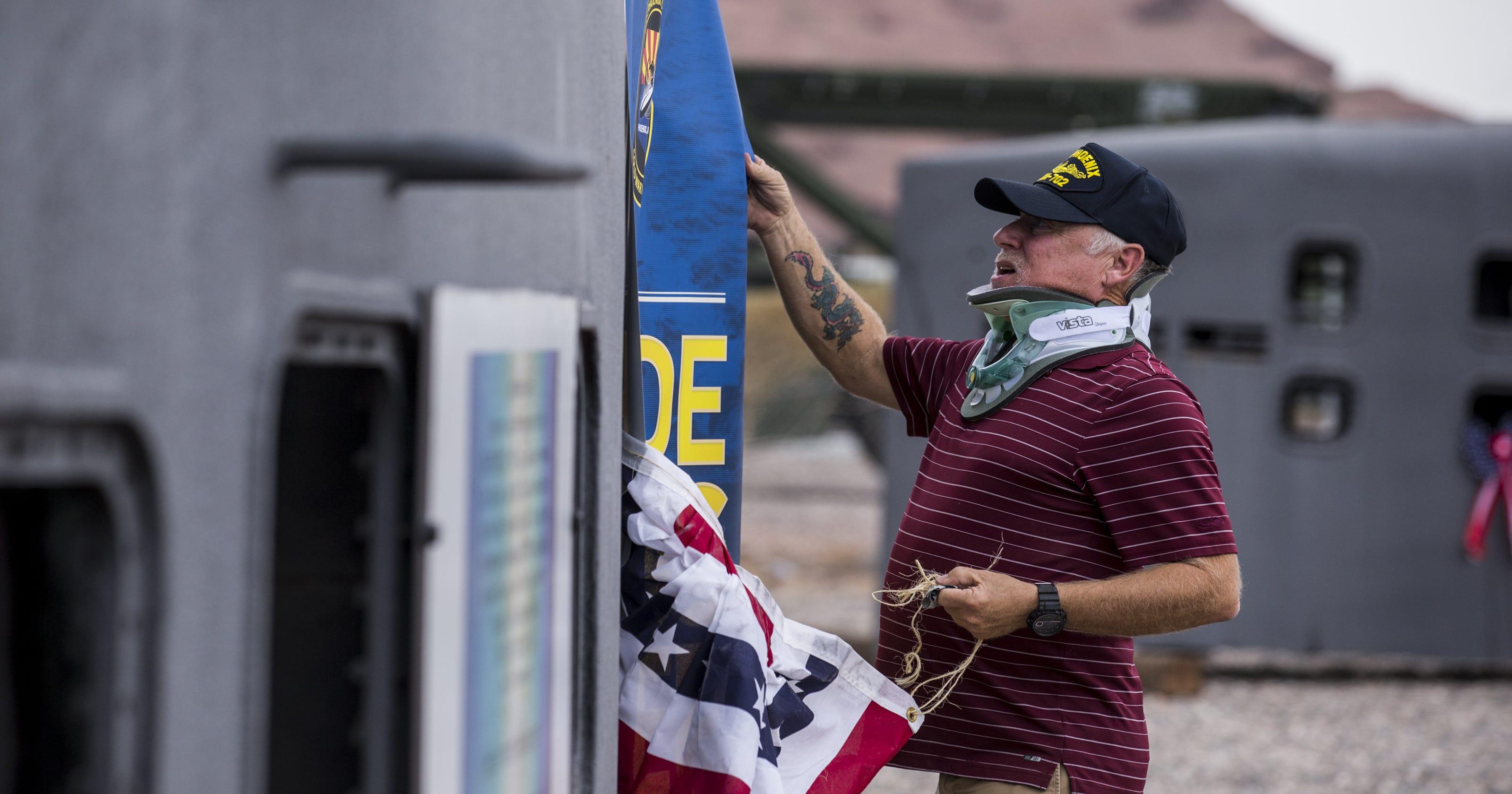 Trust, brotherhood, jokes: USS Phoenix vets reflect on