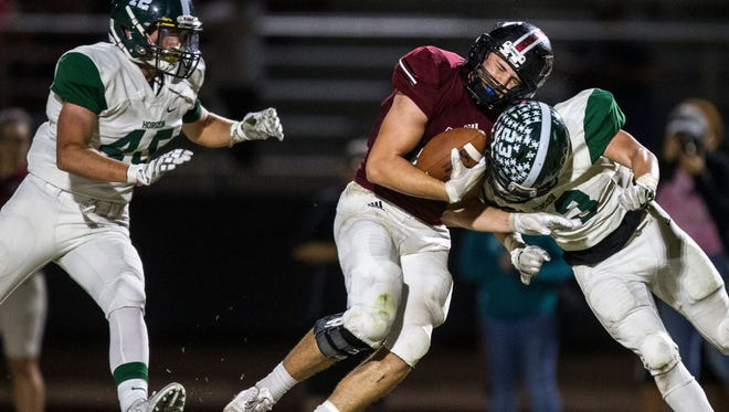 Mesa Red Mountain's Carter Wheat recently committed to BYU.