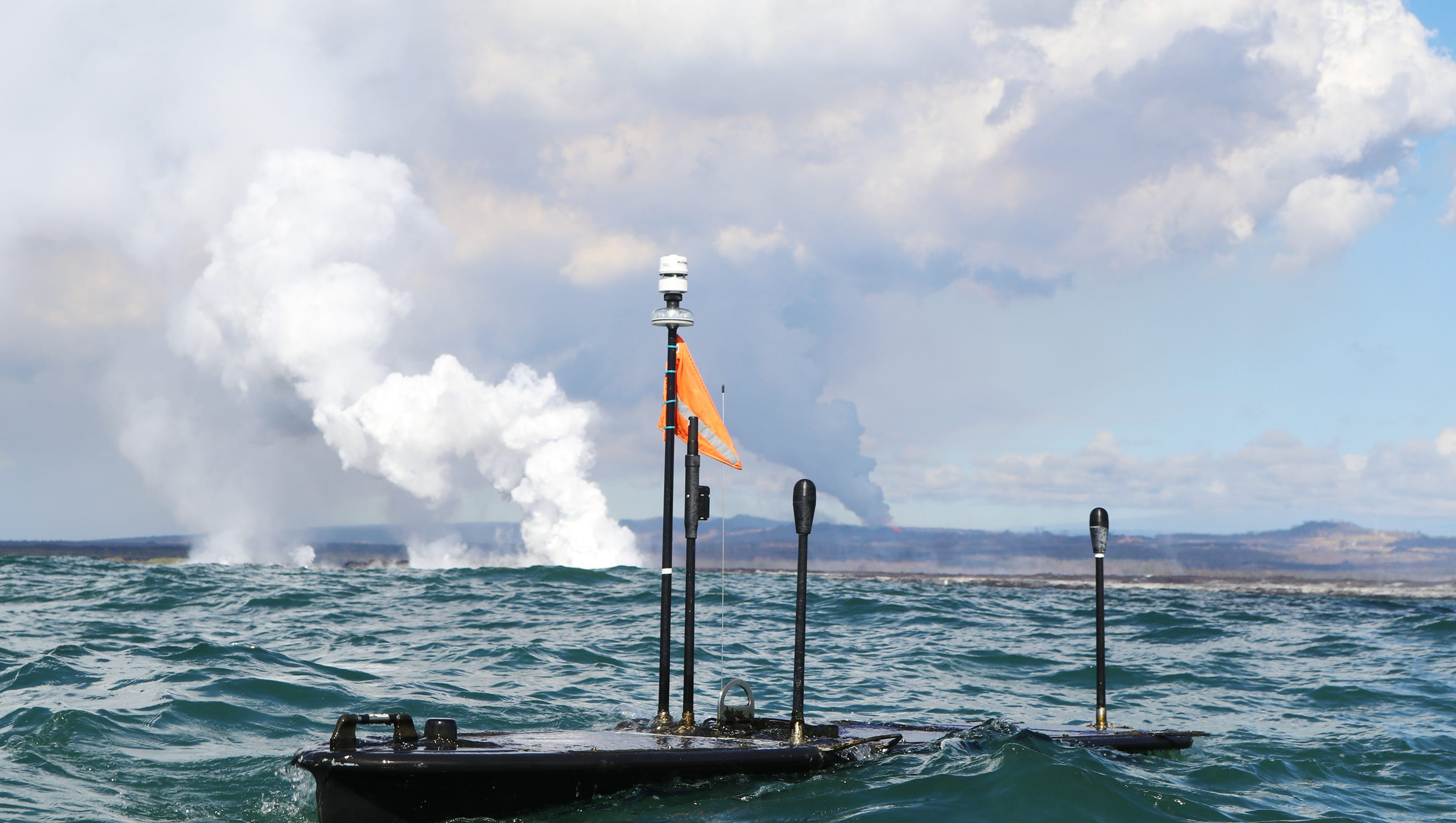 robots helping test waters near lava 2018 picture