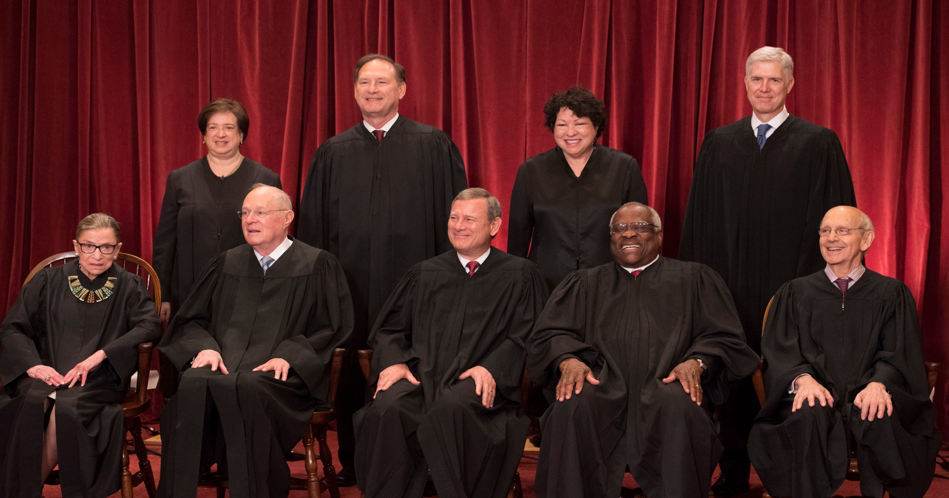 Supreme Court: A look at the age of justices