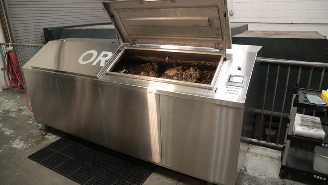 The Agua Caliente Casino Resort Spa in Rancho Mirage has started using ORCA technology to decompose solid food waste, July 17, 2018.