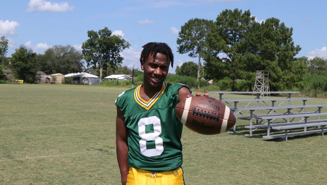 Wallace Davis will be a critical member of the Cecilia Bulldogs this fall both as a wide receiver and defensive back.