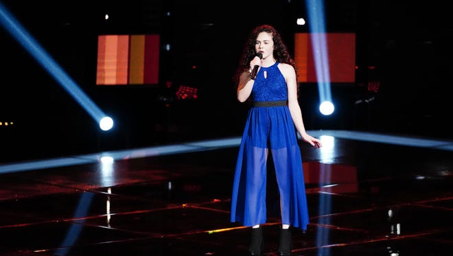 """Farmington's Chevel Shepherd, a contestant on NBC's """"The Voice,"""" hopes to move to Nashville and become a country music star."""